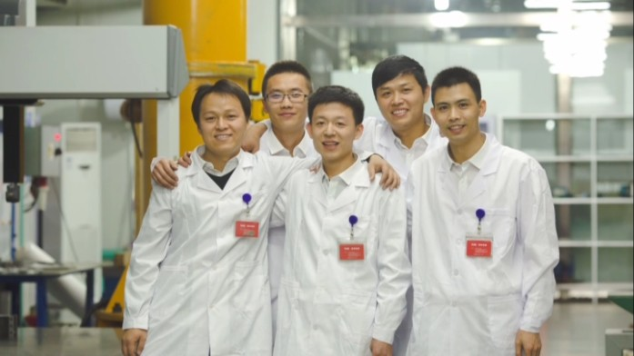 TJK Machinery design team